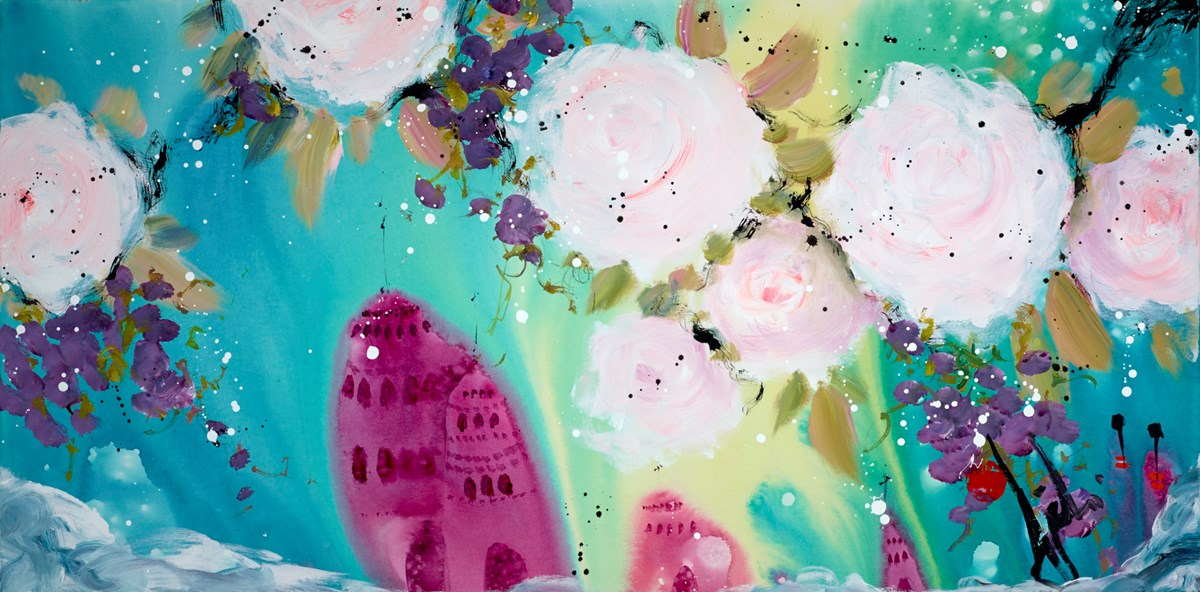 One of Those Rare Days by danielle o'connor akiyama -  sized 48x24 inches. Available from Whitewall Galleries